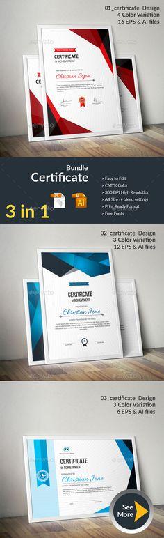 Certificate Design, Certificate Templates, Stencil Templates, Design Templates, Free Certificates, Certificate Of Achievement, Event Poster Design, Information Graphics, Newsletter Templates