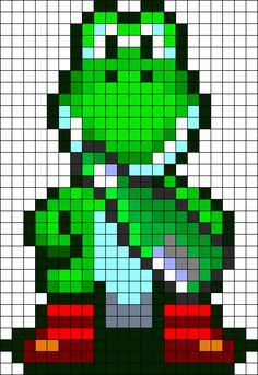 e5bac9b5e3a9a Yoshi Victory Poses perler bead pattern Melty Bead Patterns, Kandi  Patterns, Beading Patterns,