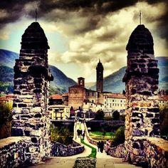 Il PonteGobbo di Bobbio, ValTrebbia - Instagram by ellyelly76