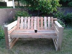 FB IMG 13702843130202800 600x450 Relax bank  in pallet garden pallet furniture  with Sofa pallet