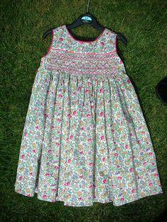 Smocked Dress by sewjo2009, via Flickr