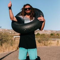 Danny Davis certainly has what it takes to get tube-ular. #durablegoods