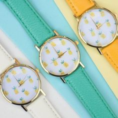 What time is it? Pineapple O'Clock. By Arcus Accessories, £20