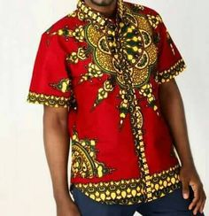 Check out this item in my Etsy shop https://www.etsy.com/listing/475030054/african-mens-clothing-red-dashiki-for