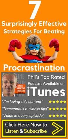 7 Surprisingly Effective Strategies For Beating Procrastination  I #procrastinated on doing this #podcast.   I was afraid that it wouldn't be a good episode.   Then, I started feeling guilt and shame about procrastinating. That made me even less #motivated to start.  That's that #negative #self-#talk you have play in your mind when you sit down to work on your #passion.  Listen to the full episode here, or just click the link in my bio.⠀⠀⠀⠀⠀⠀⠀⠀⠀⠀⠀⠀