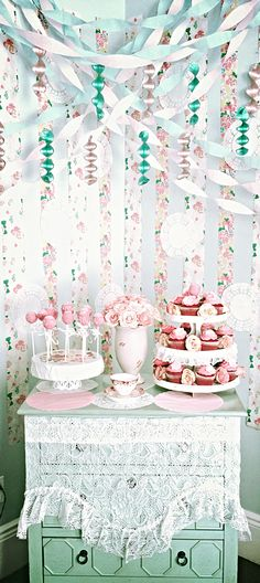 Shabby Chic Party Decor