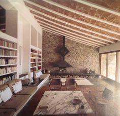 mostres de l'arquitectura i l'interiorisme típics de cadaqués (estudi mary callery 1964)