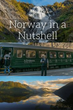Norway in a Nutshell is the perfect way to sample the best of Norway's magnificent fjords while getting to see the capital cities of Scandinavia. Sweden Travel, Norway Travel, Cool Places To Visit, Places To Travel, Places To Go, Oslo, Jotunheimen National Park, Norway Vacation, Hiking Norway