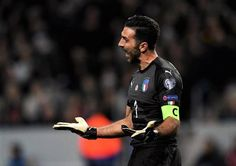 Gianluigi Buffon Photos Photos: Sweden v Italy - FIFA 2018 World Cup Qualifier Play-Off: First Leg First World Cup, World Cup Qualifiers, Turin, Number One, Fifa, Childhood Memories, Sweden, Legs