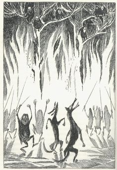 Tove Jansson swedish-hobbit-illustration-1962-12.jpeg 620×900 pixels