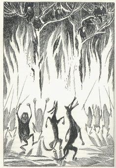 Tove Jansson swedish-hobbit-illustration-1962-12.jpeg 620×900 pixels