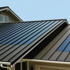 Solar Panels that look like roof tiles. #roofideas #tiles #solarpower…