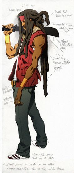Kinetic Kartel- L. Gado colors  by *ChaseConley