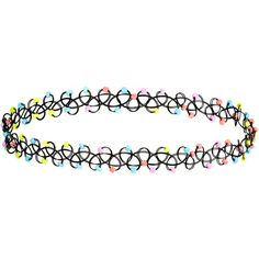 Accessorize Neon Beaded Woven Choker Necklace ($6) ❤ liked on Polyvore featuring jewelry, necklaces, chokers, accessories, blablabla, tattoo choker necklace, multi color bead necklace, multicolor necklace, beaded choker necklace and braided necklace