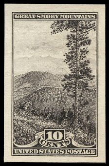 US National Parks stamps - 1934 - Great Smoky Mountains