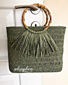 # rafyaçbag # raffiabag # stricken – Bag-Bag - My CMS Bag Crochet, Crochet Handbags, Crochet Purses, Knitting Designs, Knitting Patterns, Crochet Patterns, Handmade Handbags, Handmade Bags, Crochet Shoulder Bags