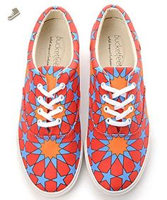 BucketFeet Persia Canvas Lace-Up Wns 10 - Bucketfeet sneakers for women (*Amazon Partner-Link)