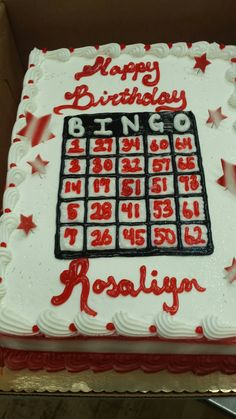 A Must For All Bingo LoversBingo Cake Delivery In UK