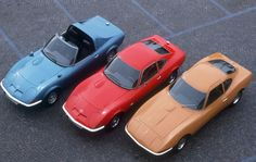 1969 Opel GT with Aero GT and 1965 Concept Car | Flickr - Photo ...