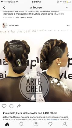 Ideas Competitive Dancing Hairstyles For 2019 Latin Hairstyles, Wedding Hairstyles, Wedding Updo, Celebrity Hairstyles, Dance Competition Hair, Ballroom Dance Hair, Bleached Hair, Hair Repair, Hair Dos