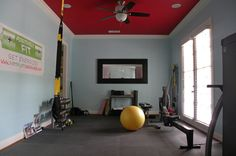 HOME TOUR Fitness And Color Pump Up A Dallas Home By Sarah