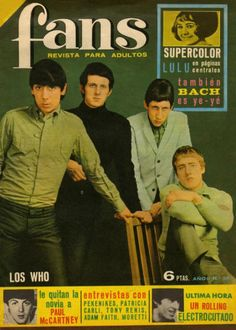 The Who - Spain - Fans - January 24, 1966