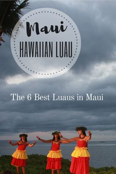 Hula dancers, Hawaiian food and traditional outfits—If you've ever wanted to attend a traditional Hawaiian Luau here are to best ones in Maui. Must Do In Maui, Maui Luau, Hawaiian Luau, Maui Hawaii, Hawaiian Islands, Hawaiian Parties, Hawaiian Recipes, Trip To Maui, Creative