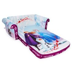Marshmallow Frozen 2 Flip Open Sofa Multi - This fun and comfy Marshmallow Frozen 2 Flip Open Sofa is the perfect size for young kids. They'll love flipping the seat over to turn it into a lounger for reading, movies, playing, and more. Frozen Toys, Disney Frozen Elsa, Frozen Stuff, Toy Cars For Kids, Toys For Girls, Fuzzy Bean Bag Chair, Toddler Chair, Toddler Girl, Frozen Characters