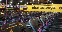 "Planet Fitness allows ""you to be you"". Read more in this Chatt Moms Blog review! #pfpromo"