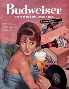 A great collection of Budweiser ads that contain both new beer commercials and old vintage magazine commercials. Lean back and let your eyes do the walking down this great beer ads alley!