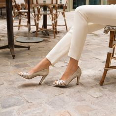 Bridal Wedding Shoes, Collection Capsule, Madame, Style Me, Fashion Shoes, Peep Toe, Heels, Comme, Shopping