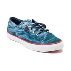 This season, test the waters with the stunning new Seacoast Water Casual Shoe from Sperry Top-Sider! Take a dip into the Seacoast Water Casual Shoe, sporting durable canvas uppers with allover prints of the rocky seas, and signature rawhide laces. <br><br><u>Features include</u>:<br> > Sturdy canvas upper with allover water prints<br> > Lace-to-toe closure with signature rawhide leather laces and life-preserver eyelets<br> > Removable molded footbed for increased comfort and arch…