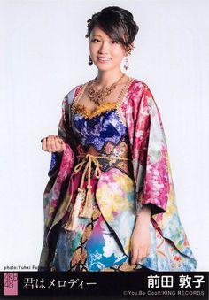 Atsuko Maeda for AKB48's 43rd single, Kimi wa Melody (You're my Melody) 2016.
