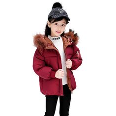 Find More Down & Parkas Information about New girls winter coat girl jacket detached fur collar winter jackets kids warm cotton thick clothes outerwear down parkas 4 12Y,High Quality Down & Parkas from KASTURIA Store on Aliexpress.com Kids Winter Jackets, Girls Winter Coats, Down Parka, Fur Collars, New Girl, Warm, Store, Cotton, Stuff To Buy