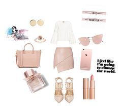 """""""Chic and sweet🎀🎈"""" by annamariaper on Polyvore featuring Michelle Mason, Valentino, Sea, New York, So.Ya, Givenchy and Burberry"""