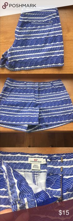 Women's vineyard vines shorts. Women's vineyard vines shorts. Size 6. Cotton and spandex. Vineyard Vines Shorts