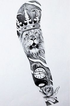 Tattoo for guys arm inspiration sleeve ideas for 2019 Lion Sleeve, Lion Tattoo Sleeves, Arm Sleeve Tattoos, Tattoo Sleeve Designs, Tattoo Designs Men, Mens Lion Tattoo, Lion Tattoo Design, Forarm Tattoos, Dope Tattoos