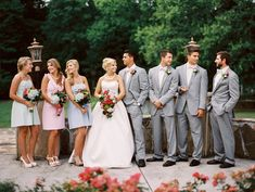 Lilly Pulitzer wedding party | JoPhoto | see more on: http://burnettsboards.com/2014/10/lilly-pulitzer-wedding-styles/