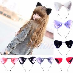 Costumes & Accessories Kids Costumes & Accessories 1 Pair Hot New Sweet Funny 6 Colors Bell Cat Ears Hair Clip Cosplay Anime Costume Halloween Birthday Party Hair Accessories Strong Resistance To Heat And Hard Wearing