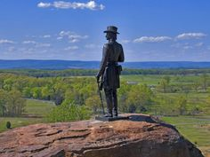 Gettysburg National Military Park, Pennsylvania, is celebrating its 150th anniversary this year and will feature living history camps and hi... from Business Insider.