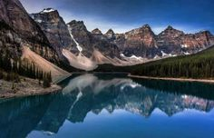 Canadian Classic!!! Early Morning Ripples on Moraine Lake!!!