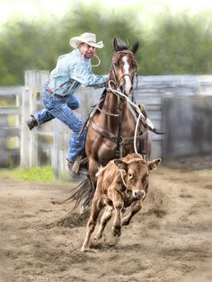 calf_roper | Flickr - Photo Sharing!                                                                                                                                                                                 More Rodeo Cowboys, Real Cowboys, Western Photography, Animal Photography, Rodeo Time, Bull Riders, Horse Ranch, Western Art, Western Quotes