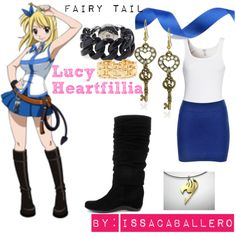 """""""Lucy Heartfillia - fairy tail"""" by issacaballero on Polyvore"""