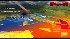 10-12 Agosto | ciclone temporalesco sull'Italia? L'anticiclone Lucifero ...