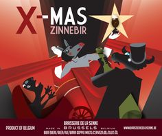 Get ready for Christmas with the marvellous brews of the Brussels 'Brasserie de la Senne'!
