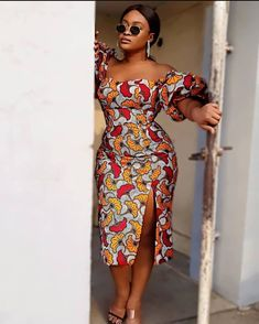 Unique Ankara Dress Designs for Beautiful African Women In 2020 - Women's style: Patterns of sustainability Short African Dresses, Ankara Short Gown Styles, Trendy Ankara Styles, Ankara Gowns, Modern African Print Dresses, Latest Ankara Dresses, African Lace, African Fashion Ankara, Latest African Fashion Dresses