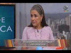 Maria Eugênia - Gazeta - Mulheres 26/08/2013 - Dicas domésticas de limpe...
