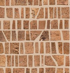 Habitus Super Tuscan Cork Mosaic Tile Http Www Habitusnyc Com Corkmosaichome Htm Mosaic Tiles Architectural Materials Cork Wall