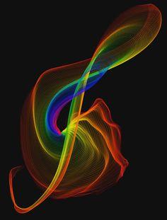 Rainbow Music Note