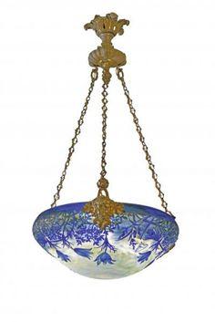 Blue Bell Plaffonier